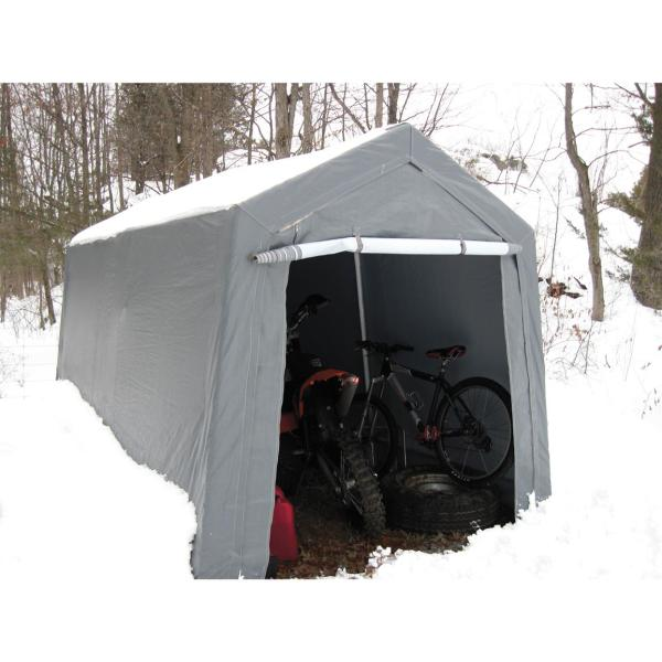 7x12' Garage Canopy King - 235652 & Car