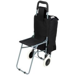 Folding Chair Cart Sofa Bed Maxam Trolley Bag With 235797 Gear