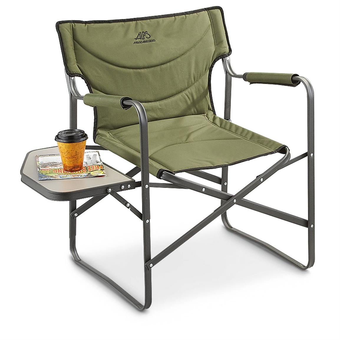 Foldable Chair Alps Creekside Foldable Camp Chair Green 236509 Chairs