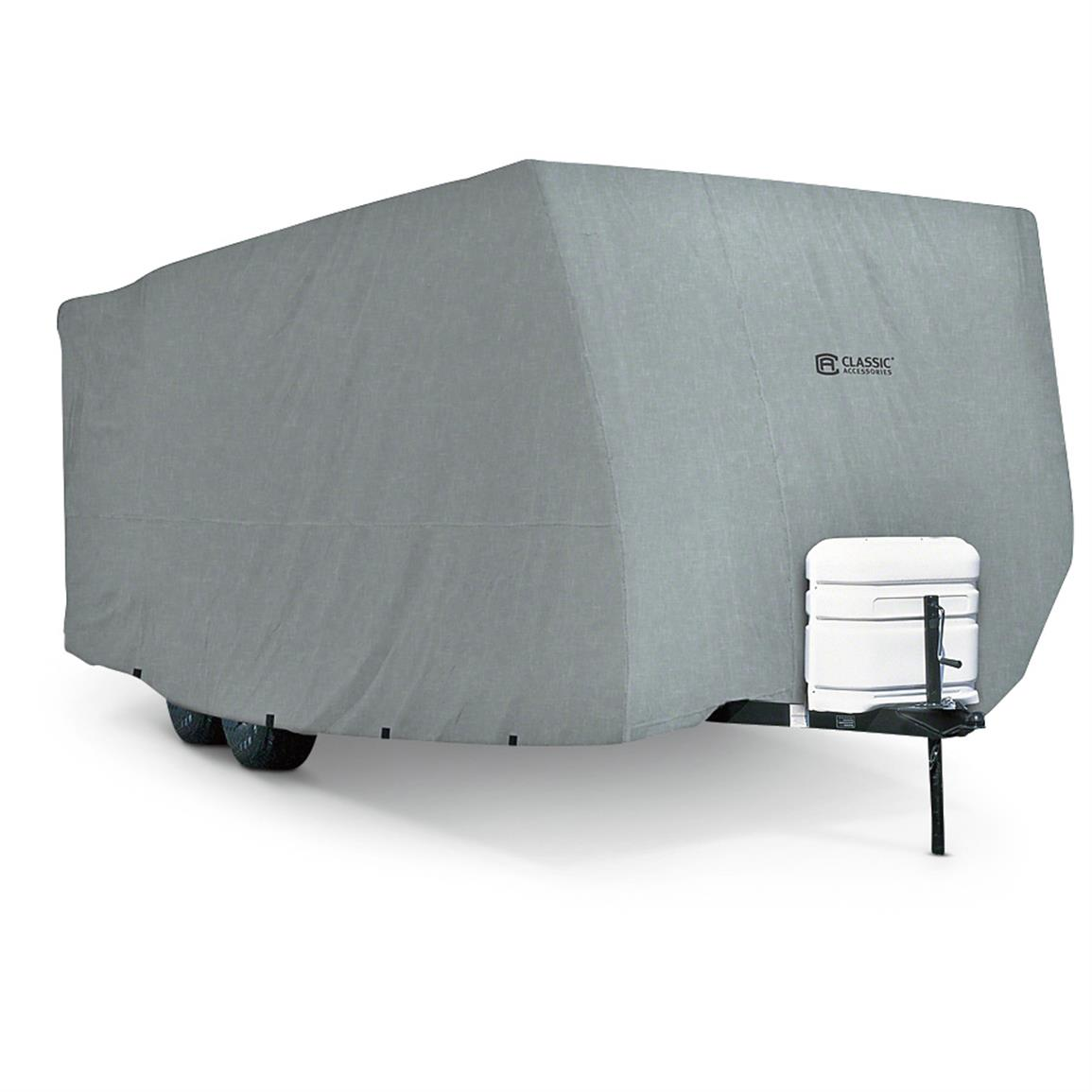 Classic Accessories PolyPro 1 Travel Trailer Cover  284822 RV Covers at Sportsmans Guide