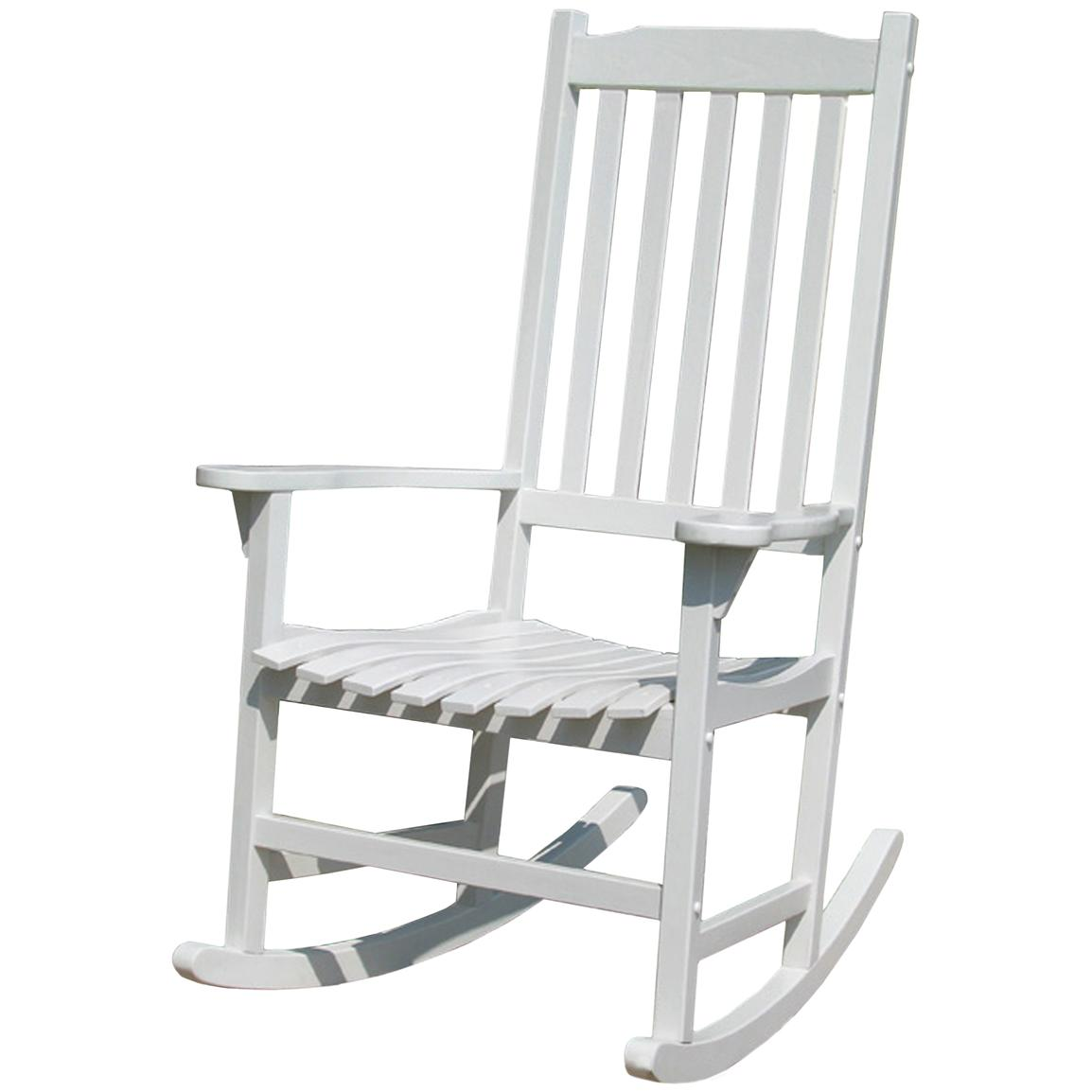 Overstock Rocking Chairs Merry Products Painted Traditional Rocking Chair 588449