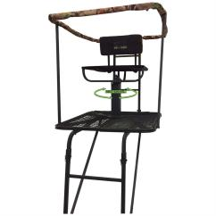 Summit Trophy Chair Review Outdoor Covers Canada Sniper Swivel Top Ladder Stand 637203 Tree