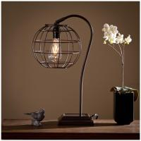 Zaine Table Lamp, Edison Bulb