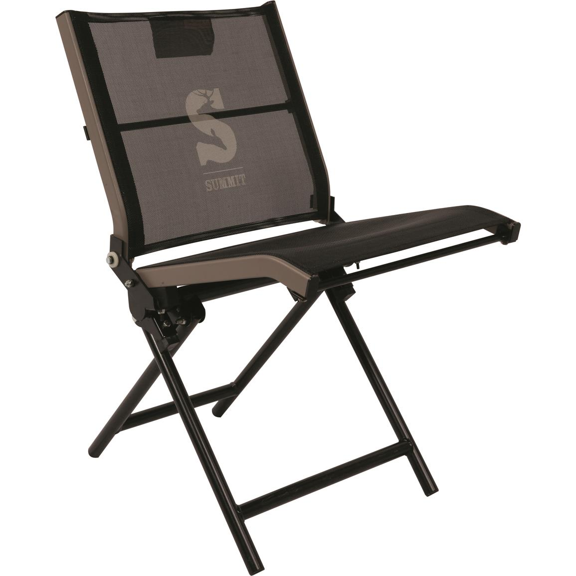 summit trophy chair review replacing wicker back chairs ground hunting seat 698085 stools and