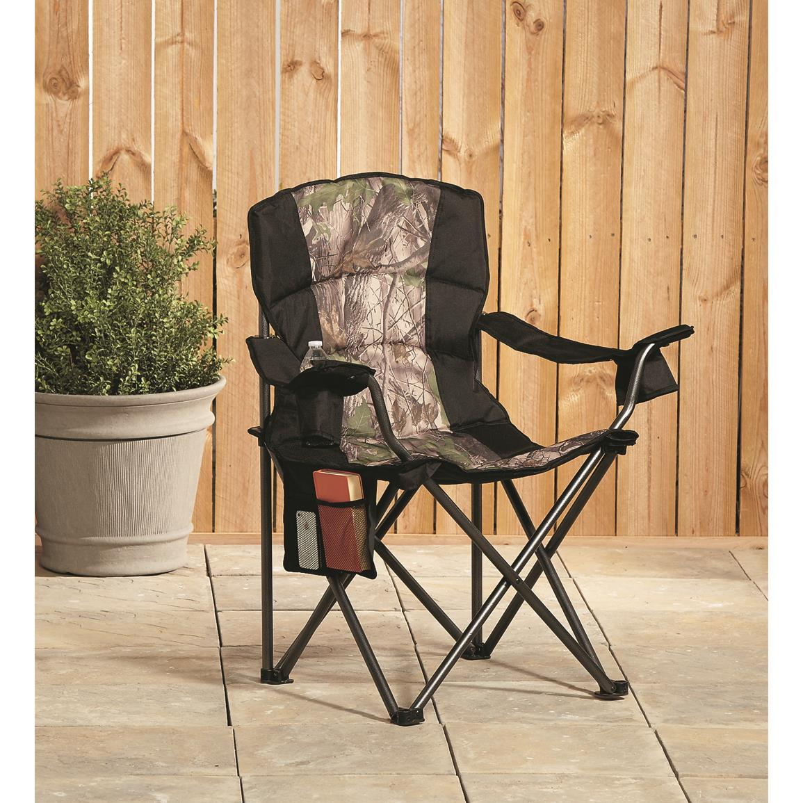 King Chairs Guide Gear Camo Oversized King Chair 500 Lb Capacity