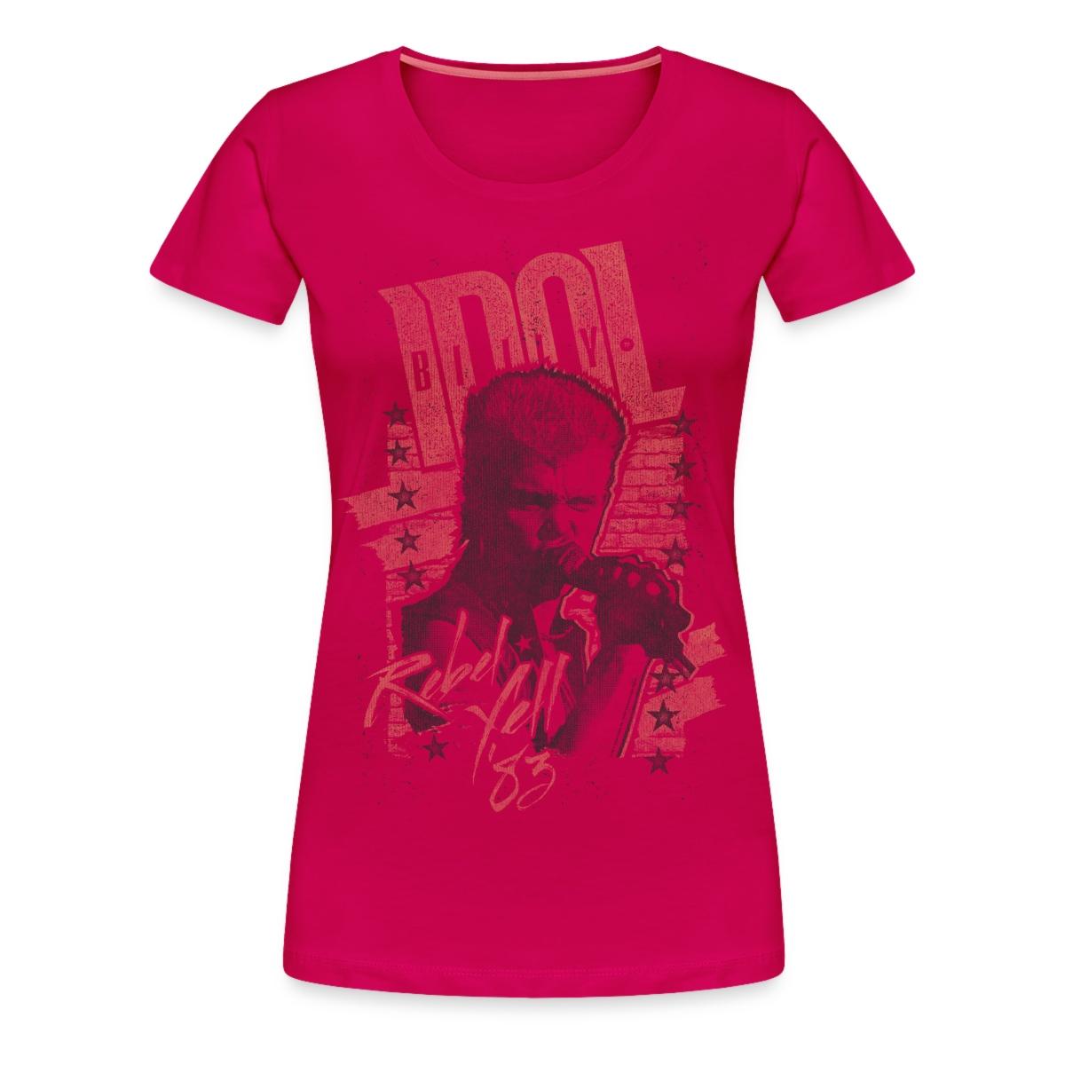 Billy Idol Rebel Yell Women' T-shirt Spreadshirt