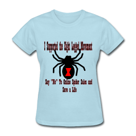 Support the Eight Legged Movement (Womens) ~ 625