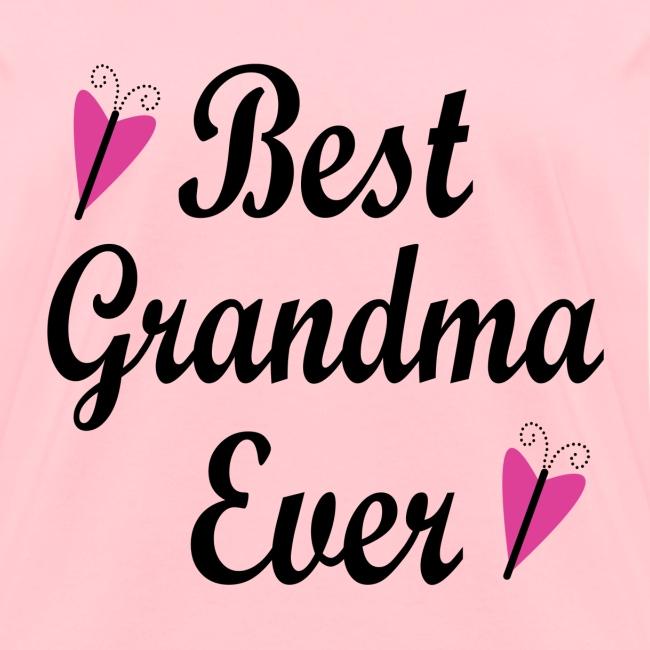 best grandma ever womens