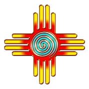 zia sun spiral pueblo