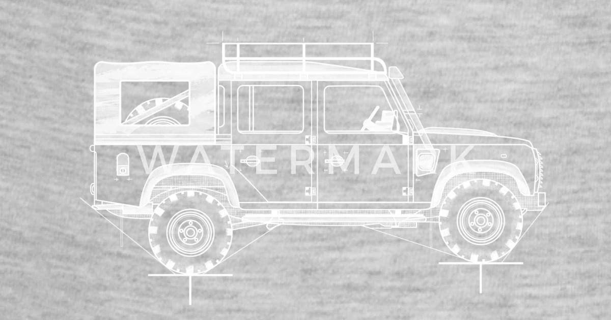 Land Rover Defender 90 Blueprints