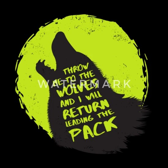 cool wolves pack t
