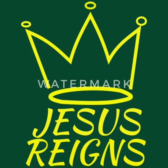 jesus reigns logo light