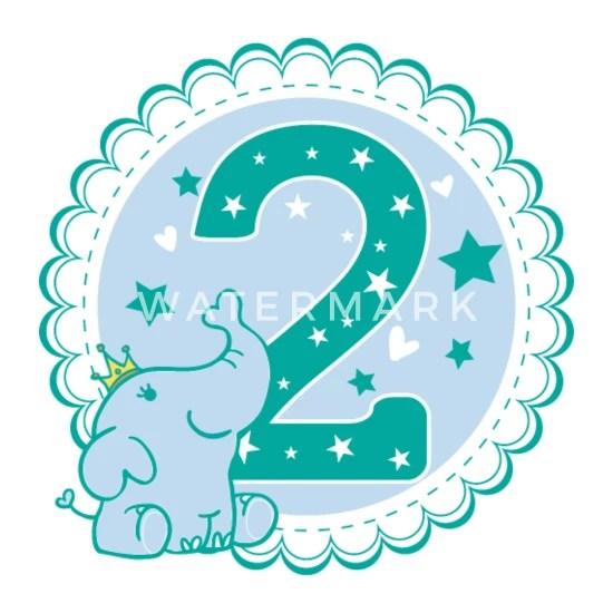 second birthday boy 2nd