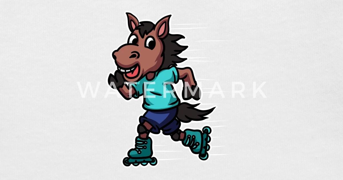 horse inline skating roller