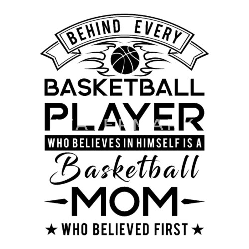 Behind every Basketball player is a Basketball mom Bandana