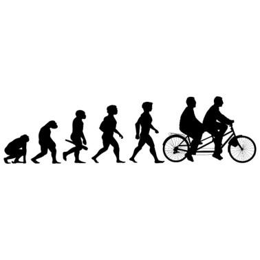 Evolution Downhill Mountain Bike MTB Men's Premium Hoodie