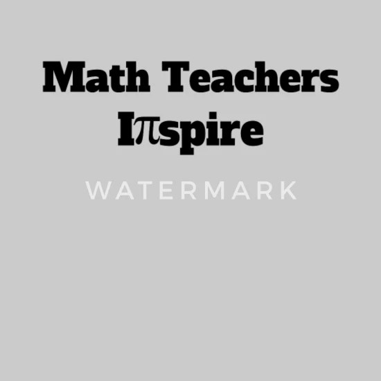 math teacher inspire pi
