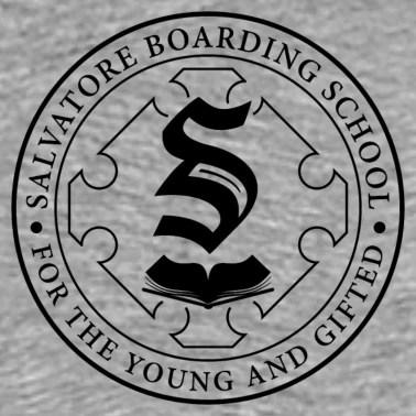 Salvatore Boarding School Crest Unisex Vintage Sport T