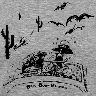 Jackalope T Shirt Mythical Animal Shirt Vintage Men's