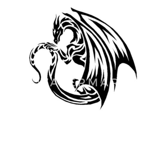 cool dragon logo mouse