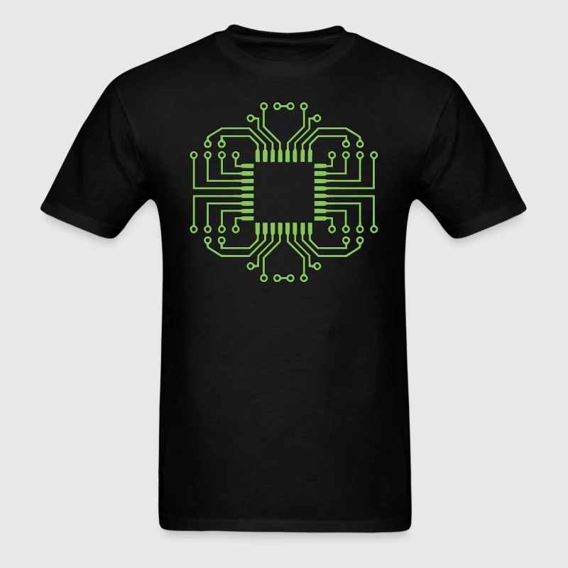 Circuit Board T Shirt