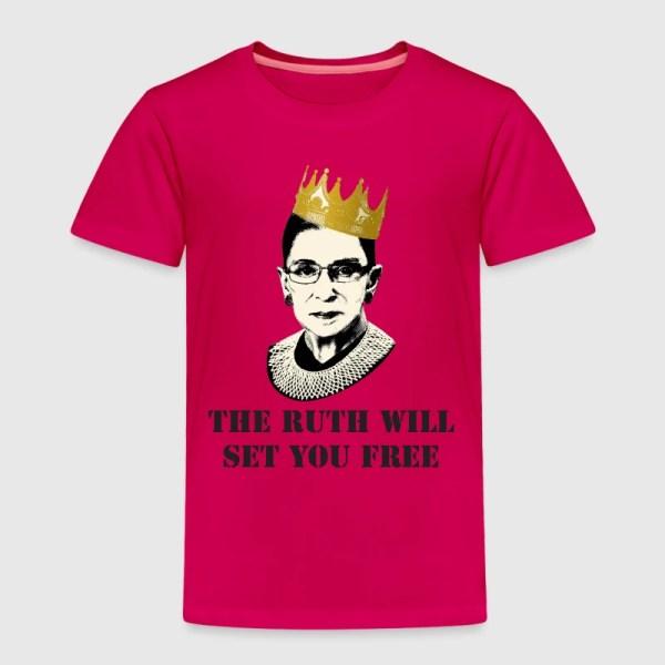 Notorious Rbg Shirt T-shirt Spreadshirt