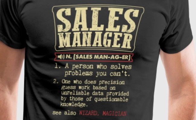 Sales Manager Badass Dictionary Term Funny T Shirt T Shirt