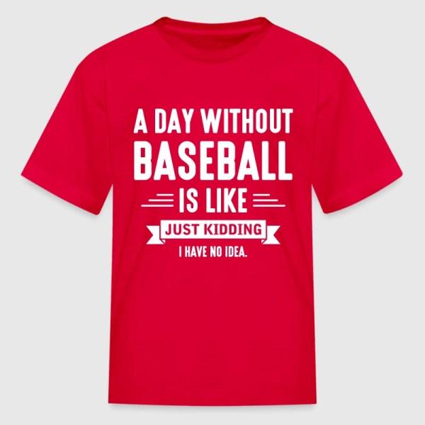 Day Baseball T-shirt Spreadshirt
