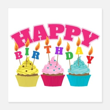 shop happy birthday posters