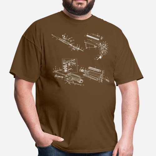 m16 exploded diagram 98 cherokee wiring ar15 men s t shirt spreadshirt front