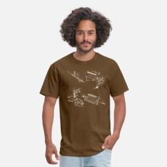 M16 Exploded Diagram Greddy Turbo Timer Wiring Ar15 Men S T Shirt Spreadshirt Shirts Brown