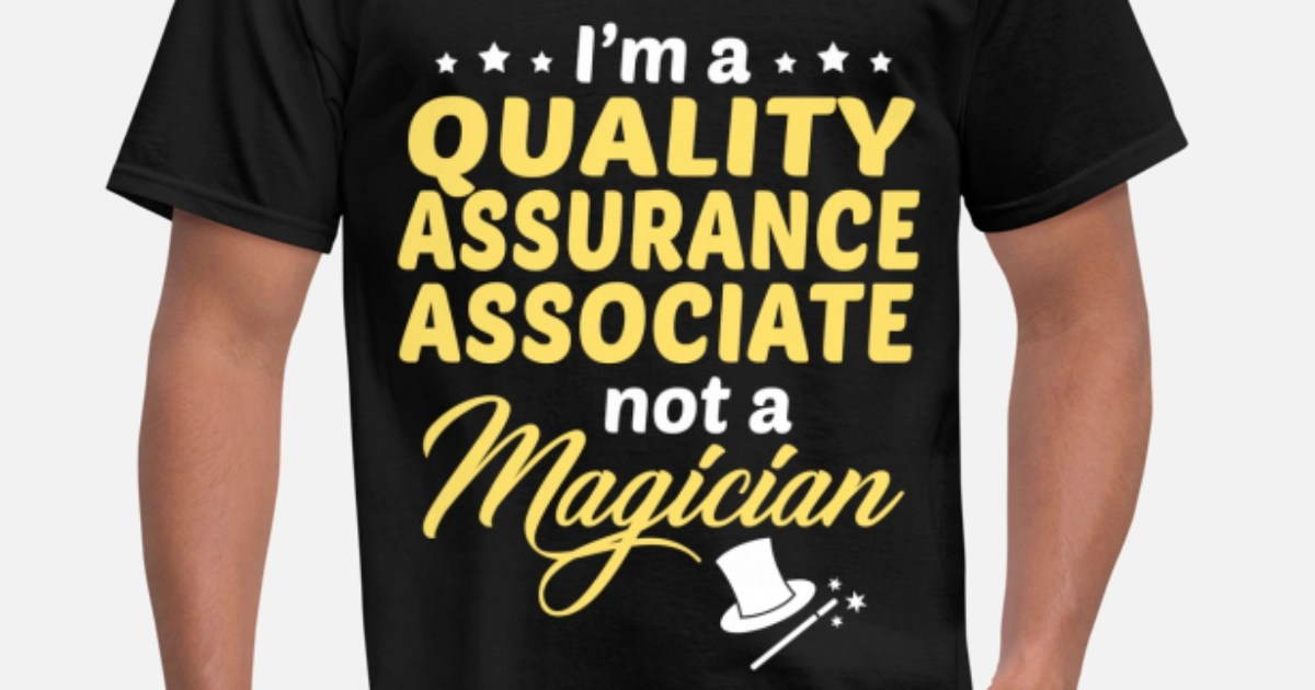 Quality Assurance Associate Mens TShirt  Spreadshirt