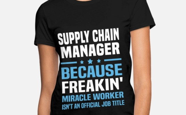 Shop Supply Chain Manager T Shirts Online Spreadshirt