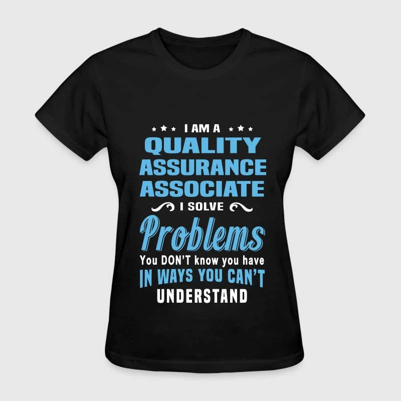 Quality Assurance Associate by bushking  Spreadshirt