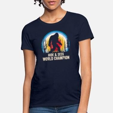 Shop Hide Seek World Champion T Shirts Online Spreadshirt