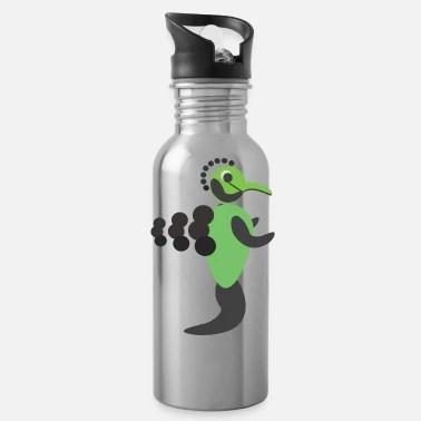 shop robot drinking bottles