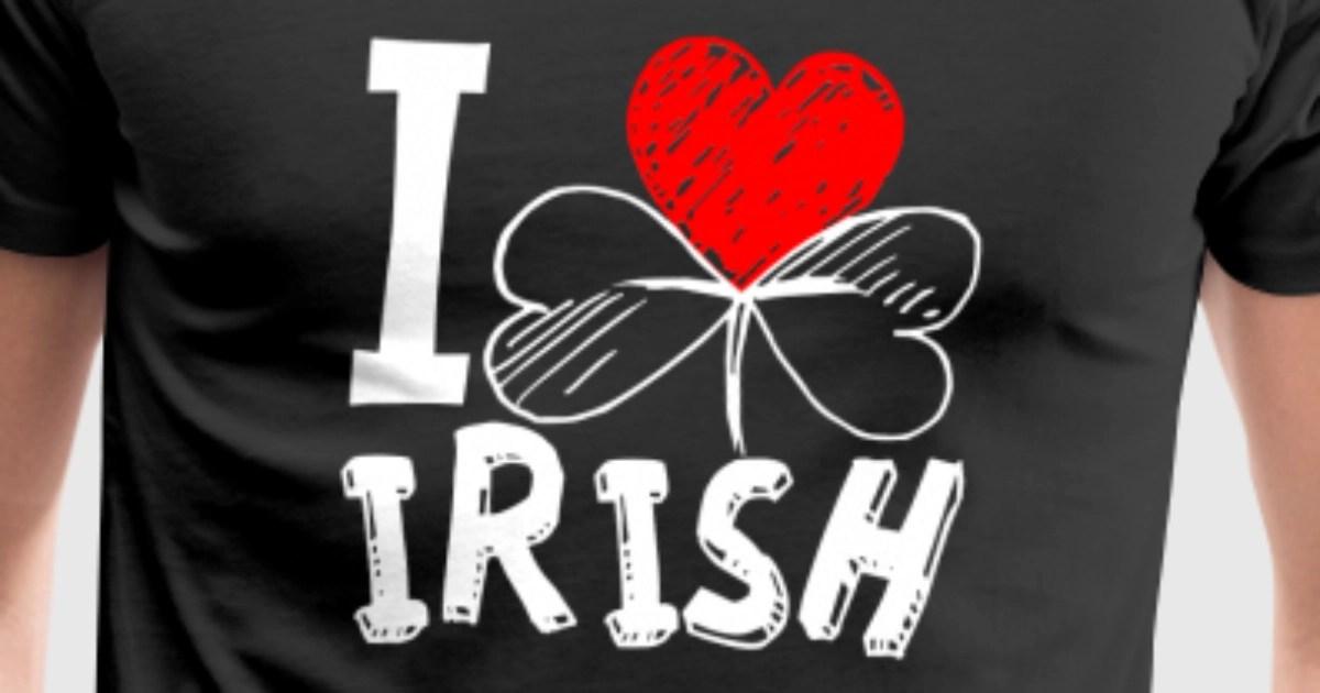 I Love Irish T-Shirt