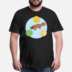 Platypus Venn Diagram Telephone Handset Wiring Men S Premium T Shirt Spreadshirt Front