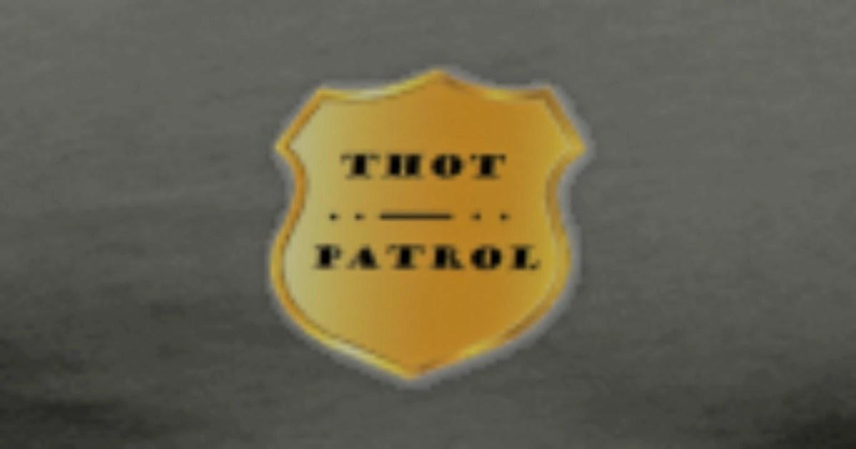 Thot Patrol Badge Shirt TShirt  Spreadshirt