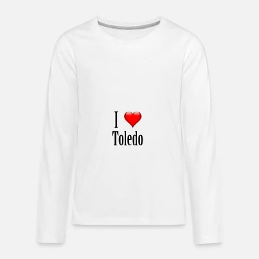 I love Toledo. Just great! Baby Lap Shoulder T-Shirt