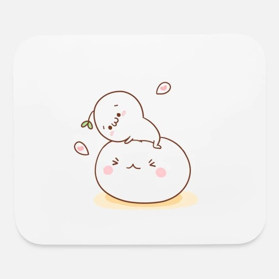 cute anime mouse pad