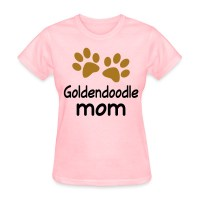 Goldendoodle Mom paw print T-Shirt | Spreadshirt