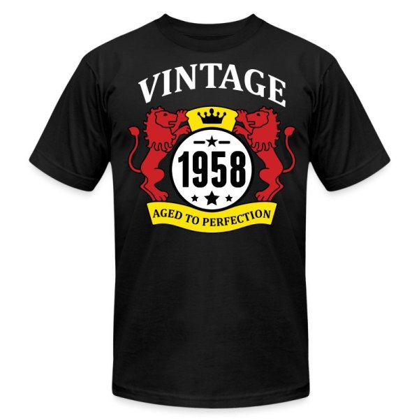 98a5c100 1968 Vintage Aged to Perfection T-Shirt