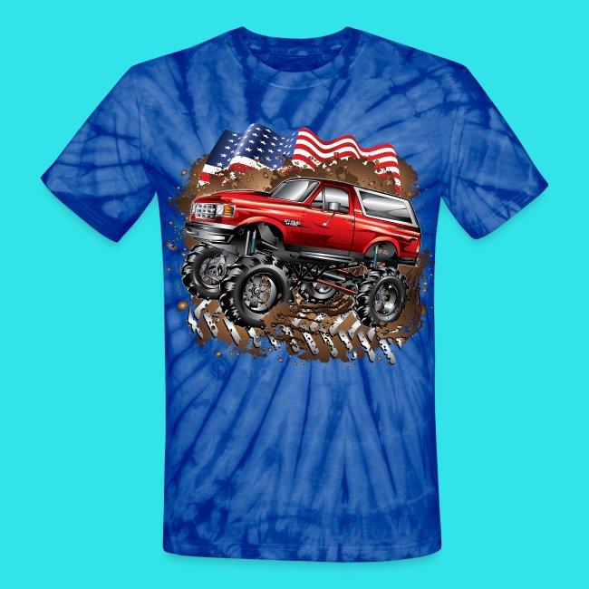 American Flag Tie Dye
