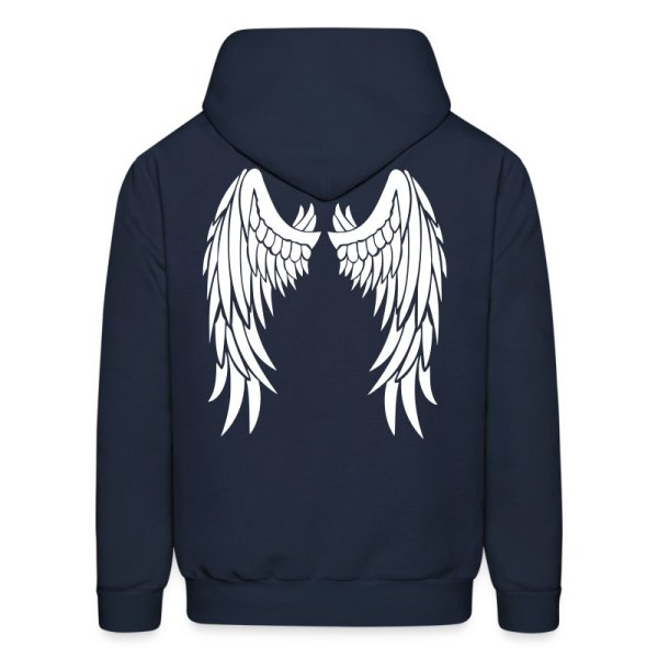 Angel Wings Hoodie Spreadshirt