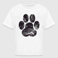 Paw Print T-Shirt | Spreadshirt