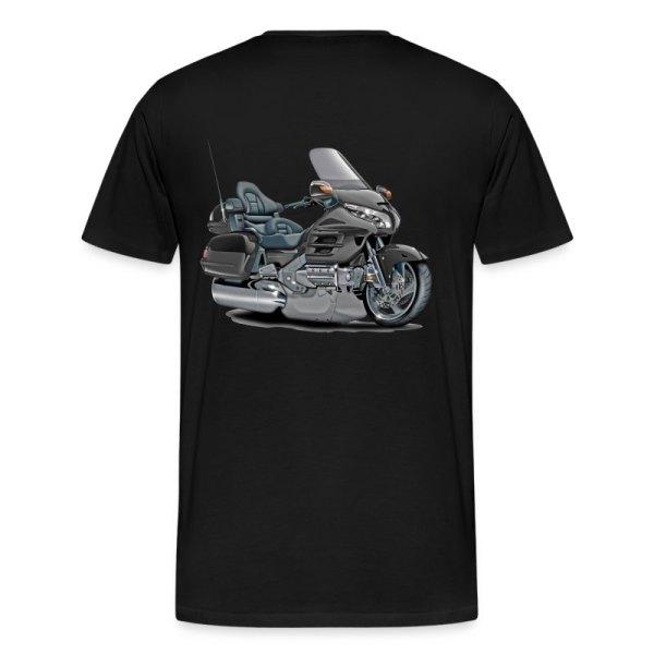 Goldwing Grey Bike T-shirt Spreadshirt