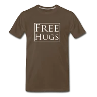 T-Shirts ~ Men's Premium T-Shirt ~ Free Hugs t-shirt