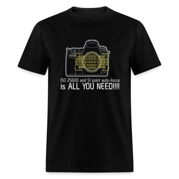Nikon D700 T-shirt Spreadshirt