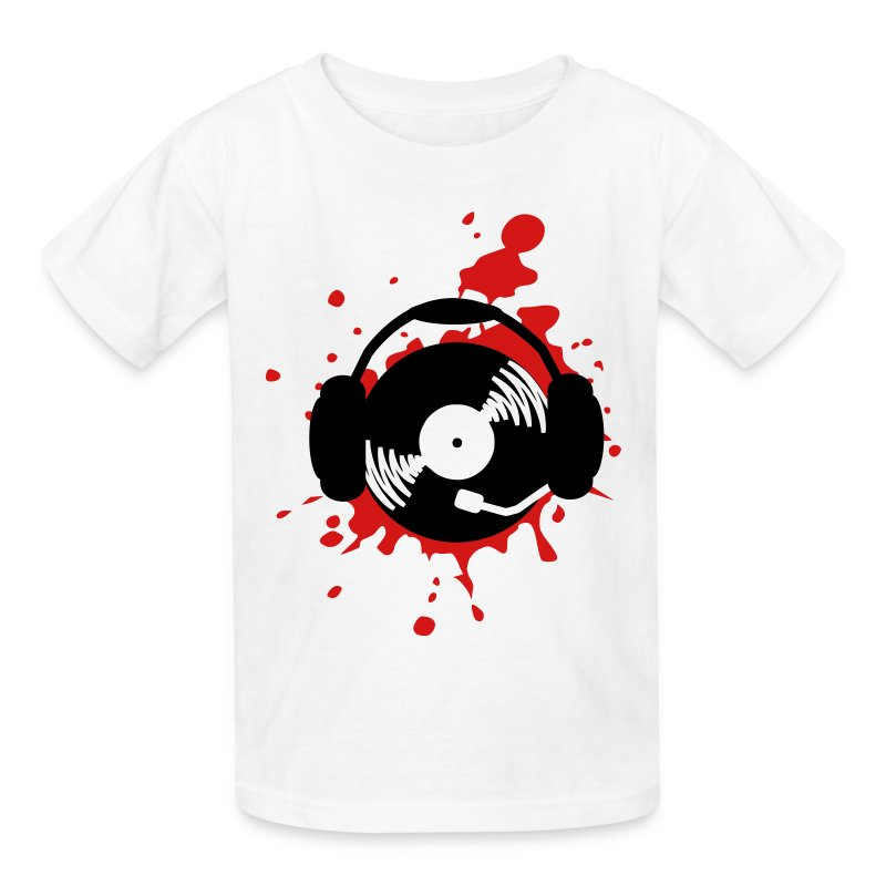 Music  Splatter  DJ Design TShirt  Spreadshirt
